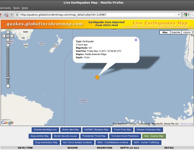 http://quakes.globalincidentmap.com/