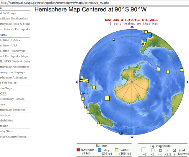 Antarctic view - USGS 080611
