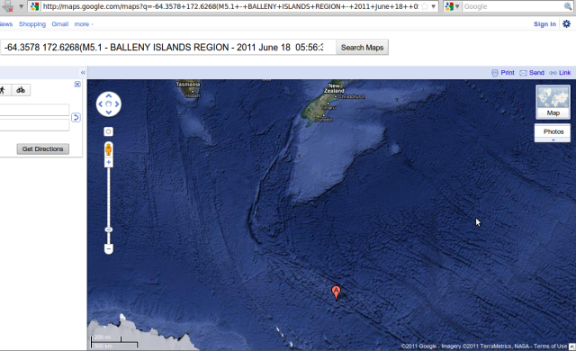 Bellaney Islands region 5.1 - Google Map 180611