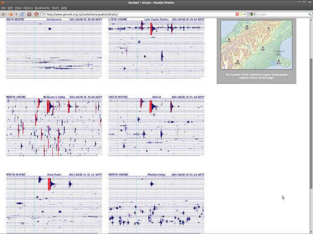 Canterbury seismograph drums - NSN 200611