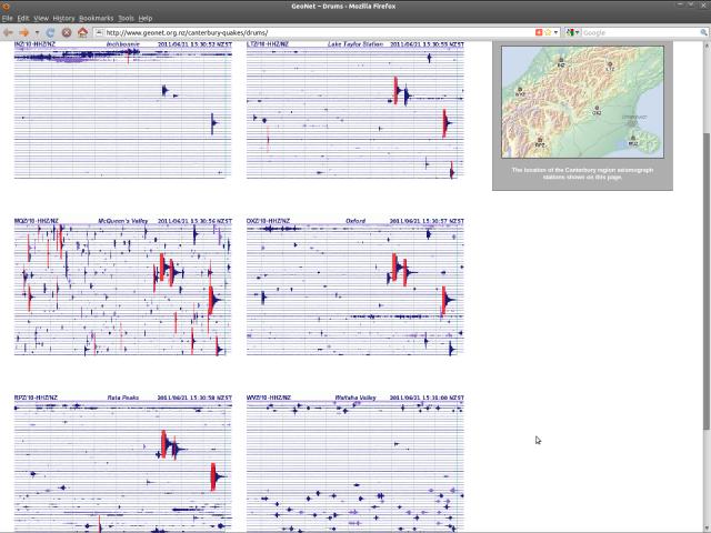 Canterbury seismograph drums - NSN 210611
