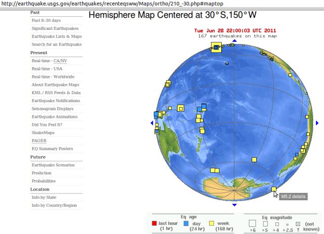 South Sandwich Islands mag' 5.2 - USGS 290611