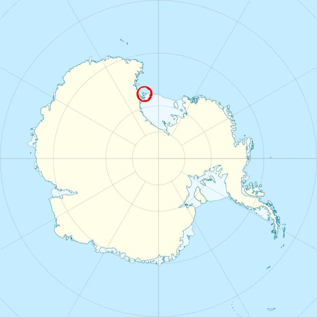 Antarctica location map - Wikipedia Mount Erebus