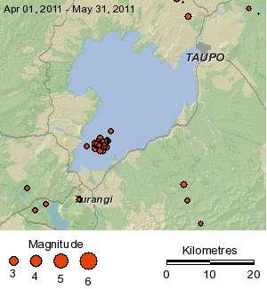 Volcanic Taupo - GNS 310511