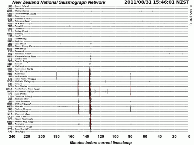 Rolleston mag 4.7 quake - GNS 310811a