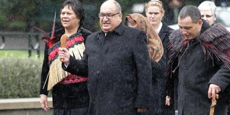 GG farewell - pic NZ Herald 170811