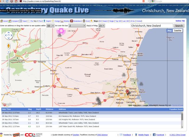Oxford mag 2.2 + 2.1 quakes - Crowe.co.nz 280911