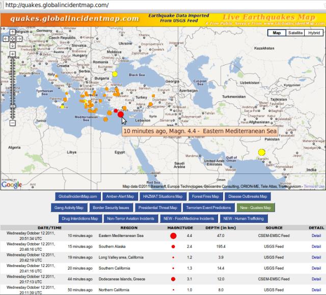 Turkey magnitude 4.4 quake - GIM 131011b