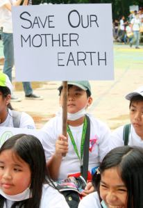 Youth appeal - Save Our Mother Earth