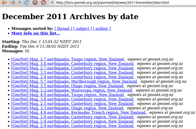 Update: NZ quake week - GNS 061211