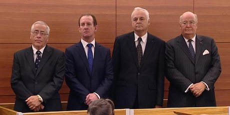 criminal trial of four Lombard Finance directors, 2011-2012