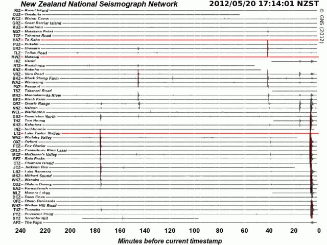 magnitude 4.8 quake off Southshore - GNS 200512