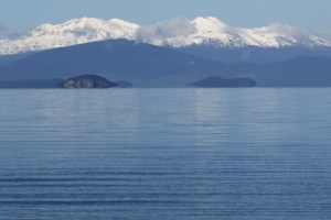 Volcanic Plateau peaks - Rangatira Ma - North Island NZ