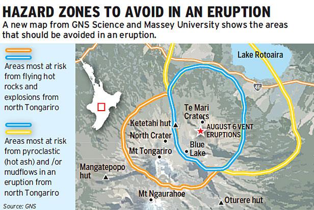 Tongariro hazard zone - Stuff 130812