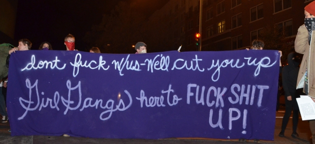 Occupy Oakland LGBT bashback 20121005