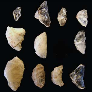 Sibudu arrow heads 2010