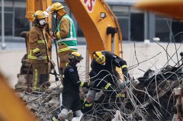 NZ Fire Service & USAR, Christchurch, Feb 2011