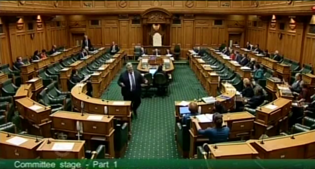 MP Gerry Brownlee hands 'opposition' debate over to the Green benches, 18 May 2013