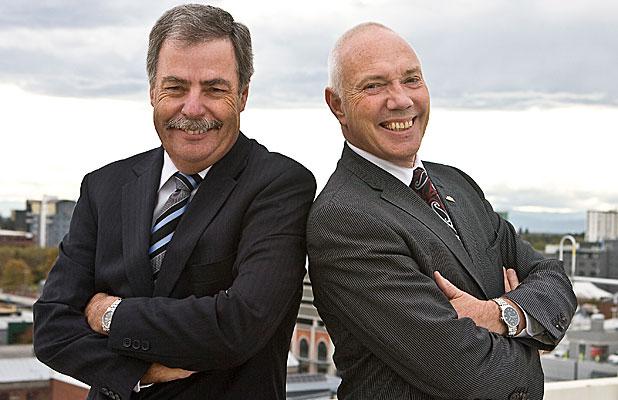 Tony & Bob in happier days