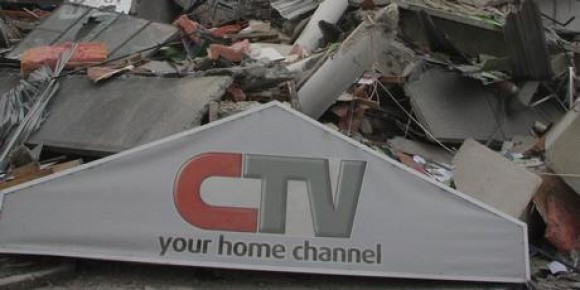 CTV entrance collapsed 22-Feb-2011