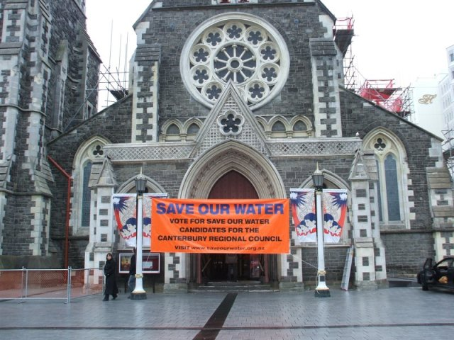 Save Our Water launch 2007
