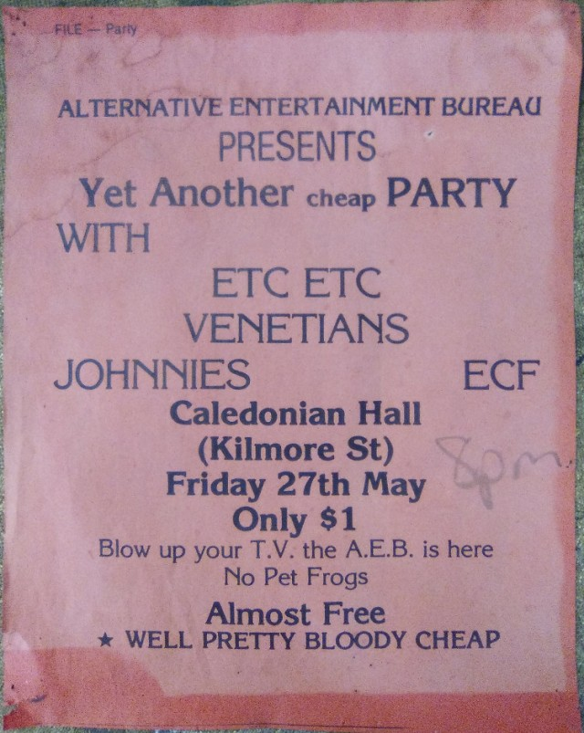 AEB Johnnies etc gig 270583
