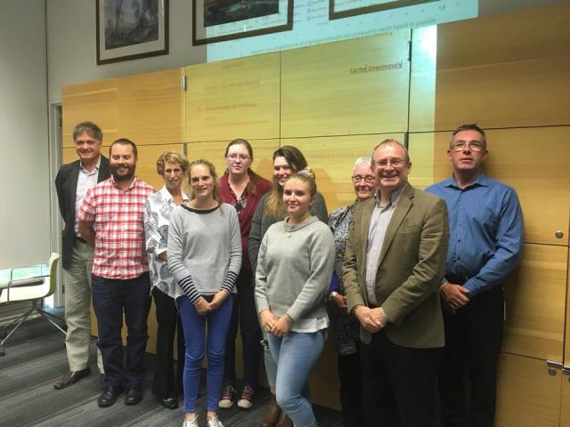 Christchurch Youth Council deputation to SHCB, 1 March 2016