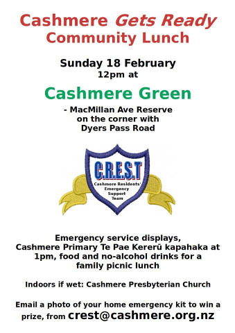 CRA-CREST 180218 community lunch event poster