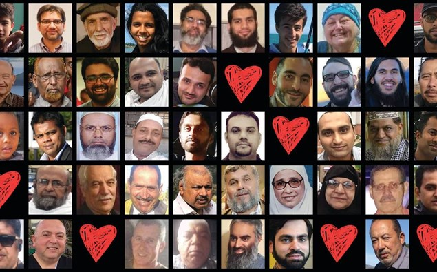 Christchurch mosque attack victims - NZME graphic